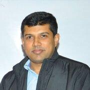 Successful candidate from Himalai IAS, Ashwin Senwi, IPS officer